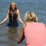 SALE – Daphne's first time as a wetlook model