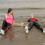 W131 Eileen and Ally – ladies in pink